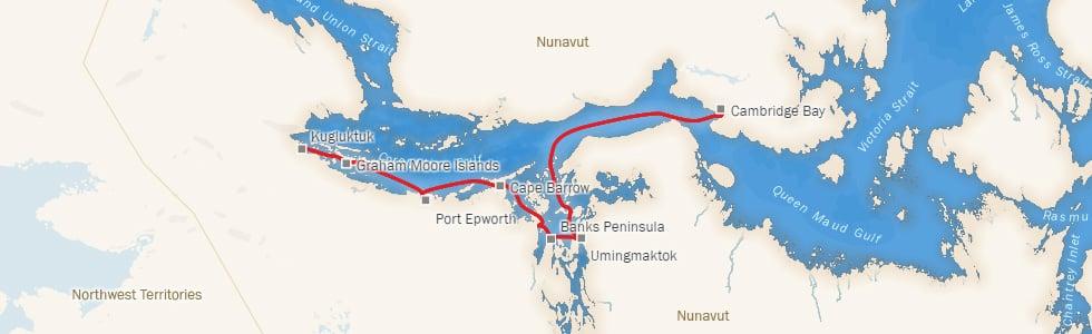 Leg 10 – Map