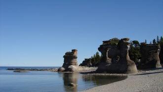 Mingan Archipelago National Park Reserve of Canada