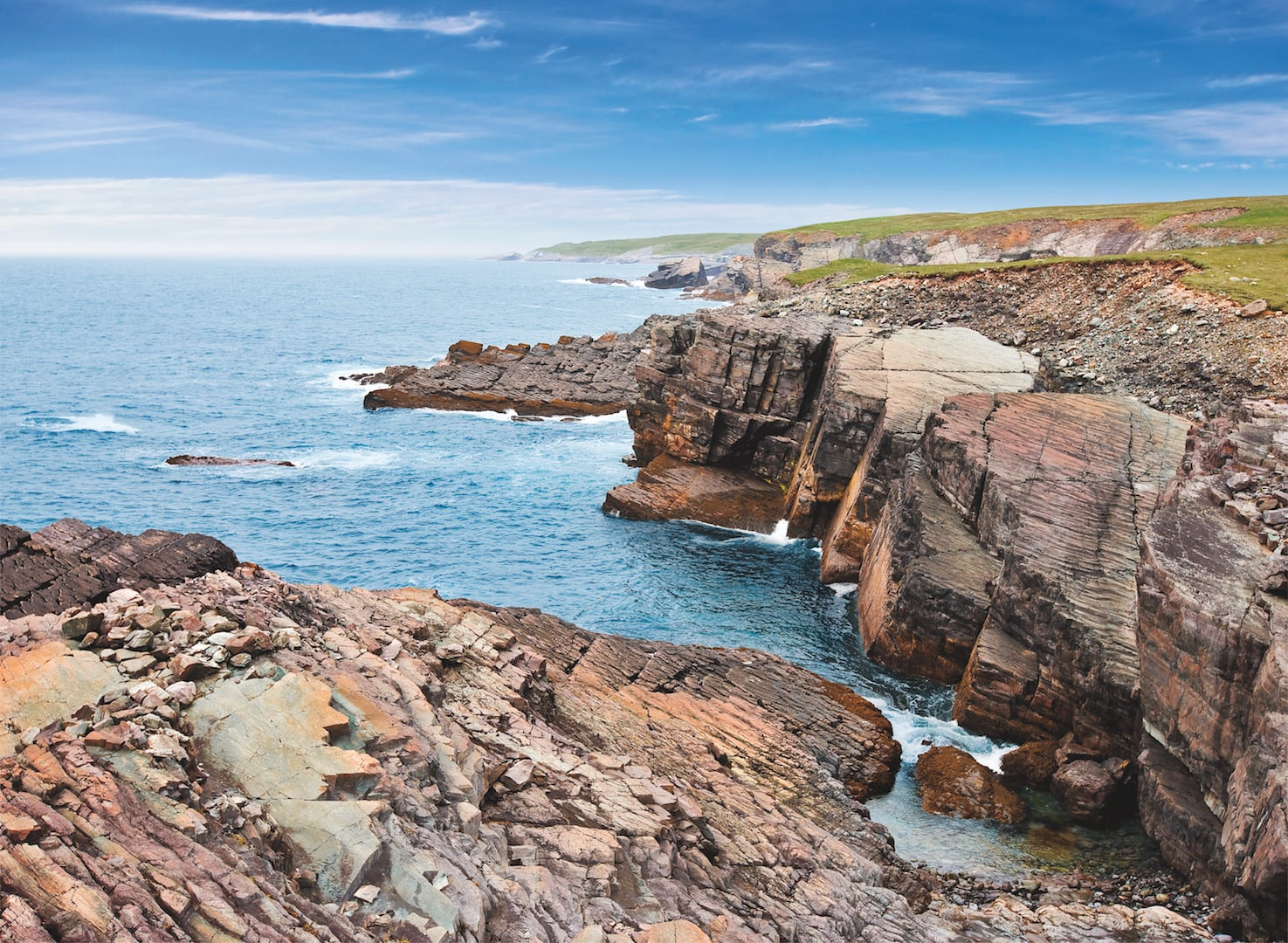 Mistaken Point Ecological Reserve, Newfoundland and Labrador, Canada