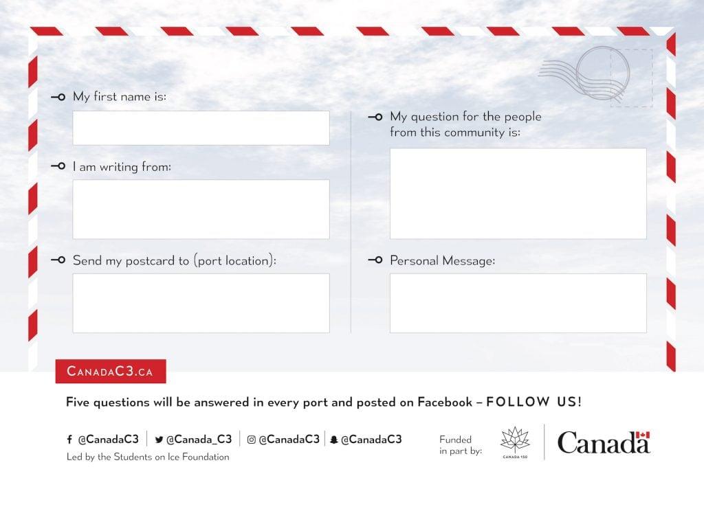 Canada C3 postcard