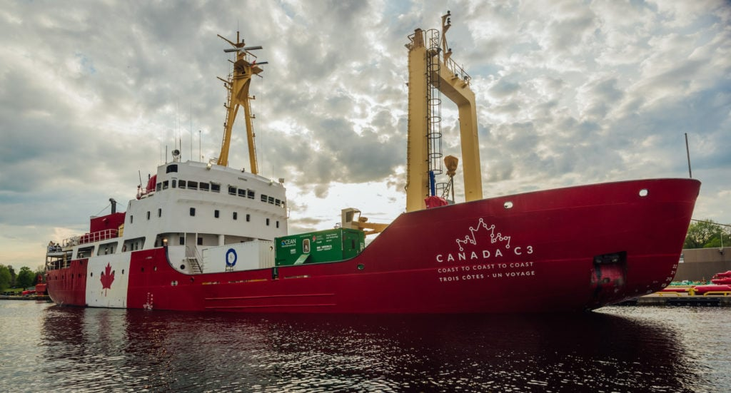 Le navire Canada C3