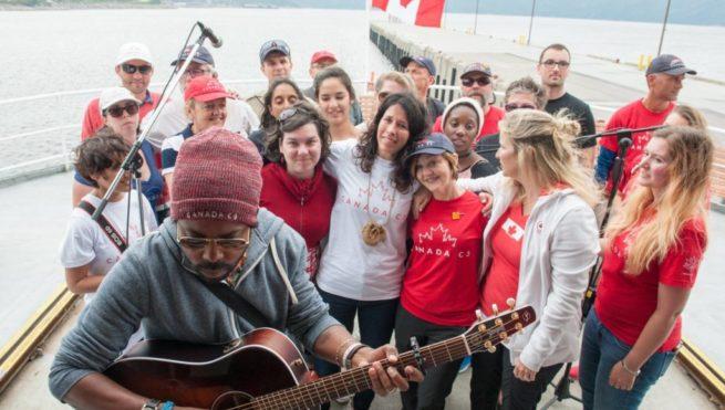 Canada C3 lance River of Nations, une chanson inspirée par le périple maritime.