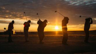 Golfing in Gjoa Haven