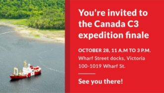 You're invited to the Canada C3 expedition finale